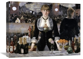 Edouard Manet - Bar at the Folies-Bergeres