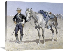 Frederic Remington - Trooper of the Plains
