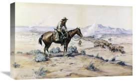 Charles M. Russell - The Trail Boss