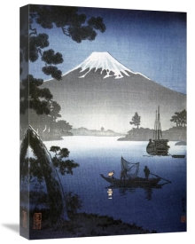 Unknown - Japanese Print (Mount Fuji from Tagonoura) By Shinsei