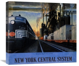 Leslie Ragan - New York Central System / Along the Water Level Route