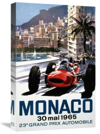 Michael Turner - Monaco Grand Prix 1965