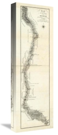 George Henri Victor Collot - Map of the Course of The Mississippi from the Missouri, 1796