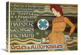 Eugene Grasset - Marque Georges Richard/Cycles & Automobiles