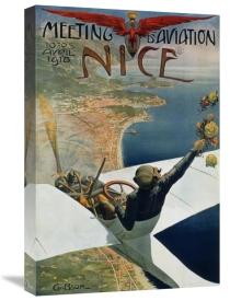 Charles Leonce Brosse - Meeting d'Aviation/Nice