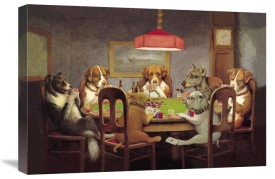 C.M. Coolidge - Poker Dogs: A Friend in Need, 1903