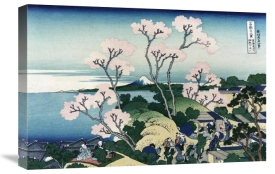 Hokusai - Goten-yama-hill. Shinagawa on the Tokaido Road, 1830