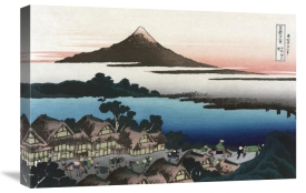 Hokusai - Dawn at Isawa in Kai Province, 1830