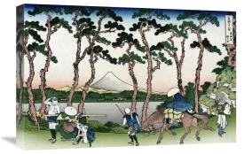 Hokusai - Hodogaya on the Tokaido Road, 1830