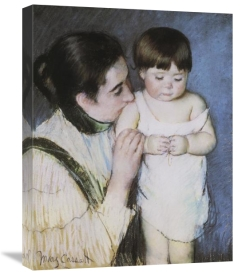 Mary Cassatt - Young Thomas And His Mother 1893