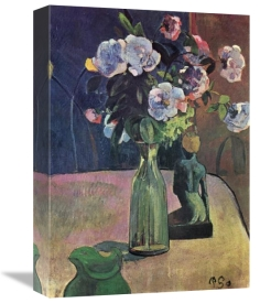 Paul Gauguin - Roses And Statuette