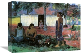 Paul Gauguin - Why Are You Angry