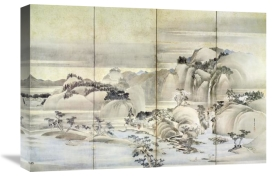 Hokusai - Landscape Spring And Summer