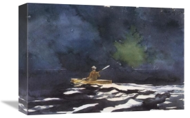 Winslow Homer - Paddling At Dusk