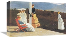 Winslow Homer - The Croquet Match