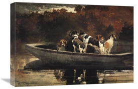 Winslow Homer - Waiting For The Start