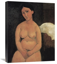 Amedeo Modigliani - A Seated Nude