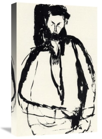 Amedeo Modigliani - Bearded Man