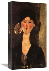 Amedeo Modigliani - Beatrice Hastings In Front Of A Door