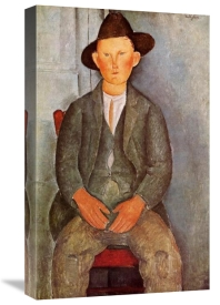 Amedeo Modigliani - Little Peasant