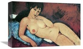 Amedeo Modigliani - Reclining Nude Raised On Right Arm
