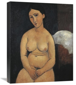 Amedeo Modigliani - Seated Nude 1