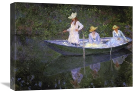 Claude Monet - Barque A Giverny
