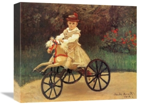 Claude Monet - Jean An His Wooden Horse 1872