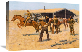 Frederic Remington - Coming And Going Of The Pony Express