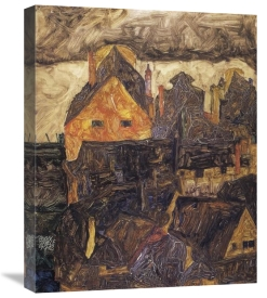 Egon Schiele - The Old City I