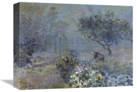 Alfred Sisley - Foggy Morning Voisins
