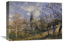Alfred Sisley - Orchard In The Spring