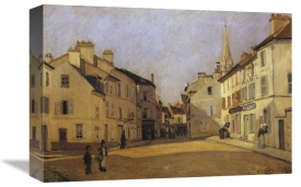 Alfred Sisley - Square At Argenteuil