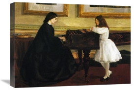 James McNeill Whistler - At The Piano