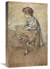 James McNeill Whistler - Baby Leyland 1872