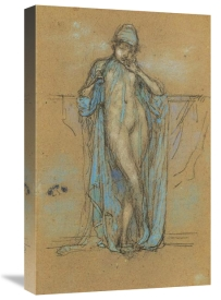James McNeill Whistler - Harmony In Blue And Violet