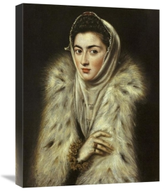 El Greco - A Lady In A Fur Wrap