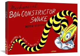 Retrobot - Boa Constrictor Snake with Victim
