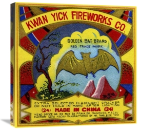 Unknown - Kwan Yick Fireworks Co. Golden Bat Brand
