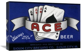 Vintage Booze Labels - Ace Beer