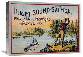 Retrolabel - Puget Sound Salmon - On the Fly