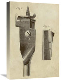 Inventions - Adjustable Wood Drill Bit