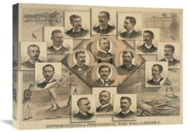 Vintage Sports - Representatives of professional baseball in America