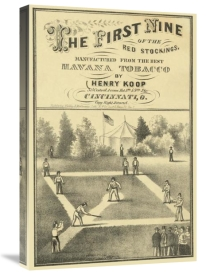 Vintage Sports - First nine of the Red Stockings