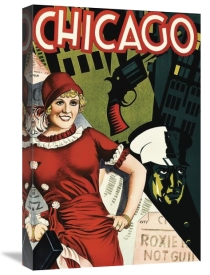 Unknown 20th Century American Illustrator - Movie Poster: Chicago