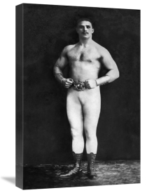 Vintage Muscle Men - Bodybuilder in Leotard and Boots