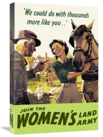 Cross - Join the Women's Land Army