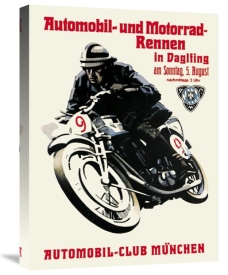 Unknown - Automobile and Motorcycle Race - Munich