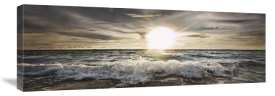 Niels Busch - Sun Shining Over Rocky Waves