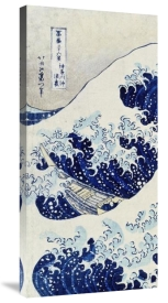 Hokusai - The Great Wave of Kanagawa (left)